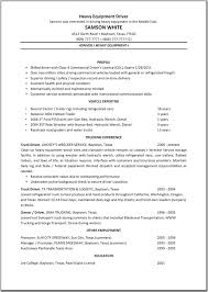 Sample Resume Objectives For Bus Driver by Truck Driver Resume Format Free Resume Example And Writing Download