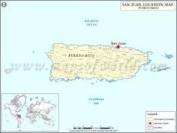 san juan map where is san juan location of san juan in map