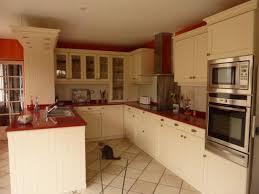 coloris cuisine cuisine cottage coloris laque beige avec technostone