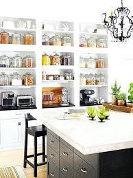 kitchen island shelves open shelf kitchen cabinets island shelves design decorating