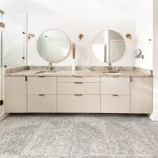 ikea kitchen cabinets in the bathroom calm and clean bathroom using a neutral color scheme