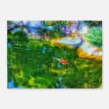 Koi Outdoor Rug Koi Pond Rugs Koi Pond Area Rugs Indoor Outdoor Rugs