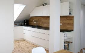 küche in dachschräge einbauküche in dachwohnung