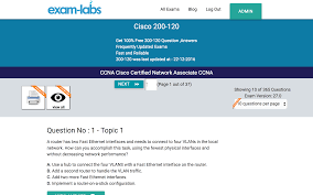 200 120 cisco real exam questions 100 free exam labs