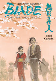 Volumes Behind The Curtain Blade Of The Immortal Volume 31 Final Curtain Tpb Profile