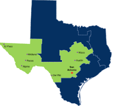 houston map districts u s marshals service area of service western district of