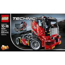 lego technic truck technic race truck set lego 42041 walmart com