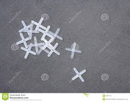 floor tile and tile spacers stock photo image 3625170