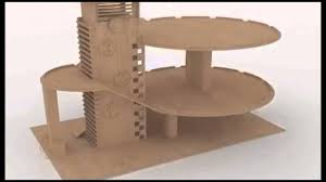 laser cutting plans parking garage building wood toy cnc youtube