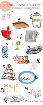wedding gift registry finder entertaining essentials top 15 pieces to add to your wedding gift
