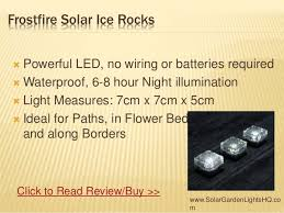 top 10 solar powered path lights for your garden