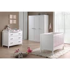 ensemble chambre bébé pas cher ensemble 4 pièces pour chambre bébé avec lit à barreaux 60x120 cm