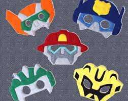 Rescue Bots Halloween Costume Rescue Bots Mask Etsy