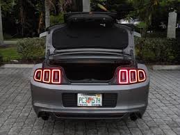 mustang trunk space 2014 ford mustang conv v6 premium convertible fort myers florida