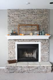 fireplace gray walls white mantel u0026 box frame around the