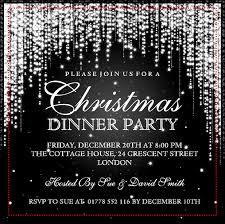 Christmas Card Invitation Templates Free Marvelous Free Elegant Christmas Party Invitation Templates Given