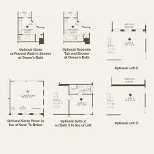 Wet Bar Floor Plans by Plan 3 Casoria At Evergreen At Skye Canyon In Las Vegas Nevada