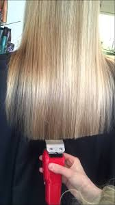 cut your own hair with clippers women cutting long hair with clipper ellen naaktgeboren youtube