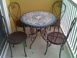 Mosaic Top Patio Table Furniture Design Ideas Enchanting Mosaic Patio Furniture Set