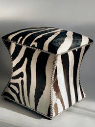 Zebra Ottoman 113 Best Ottoman Images On Pinterest Ottomans Benches And Bench
