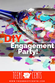 Engagement Party Ideas Pinterest by Diy Engagement Party Teensgotcents