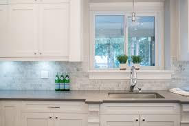 Quartz Countertops With Backsplash - white cabinets also quartz countertops for contemporary kitchen