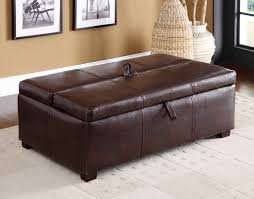 Pull Out Ottoman Bed Ottoman In Brown Or Black With Pull Out Bed Ottoman With