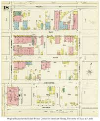 Dallas Crime Map by The Praetorian Building And Its 19th Century Neighbors Flashback
