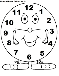 clock coloring pages free clock coloring pages online clock
