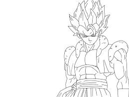 gogeta free coloring pages on art coloring pages