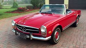 pink mercedes truck sold 1971 mercedes benz 280sl pagoda for sale by autohaus of