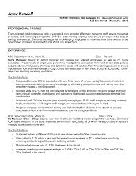 Retail Manager Resume Example by Resume Of Store Manager Best Free Resume Collection