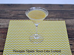 pineapple upside down cake cocktail sundaysupper hezzi d u0027s