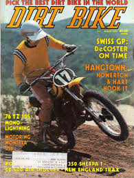 Dirt Bike Magazine 1975 Yamaha Yz125c Montesa 250 V75 Cz400mx