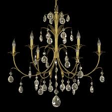 Classic Chandelier 3d Classic Chandelier With Metal Leaves Cgtrader