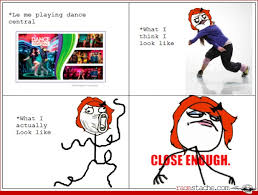 Central Meme - i would hope i dance half way decent dance central pinterest