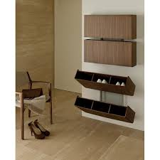 wall mounted shoe cabinet functional shoe rack designed by colzani is what makes of pit stop a