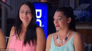 My Kitchen Rules Memes - mkr s lisa shows off her very arched eyebrows and taut forehead