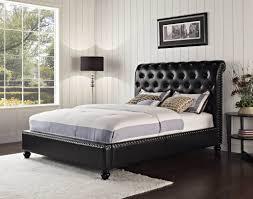 Standard Bedroom Furniture by Standard Black Stanton Tufted Bed Beds