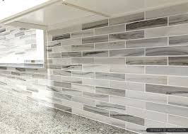 backsplash tile kitchen gray white some brown tones modern subway kitchen backsplash tile