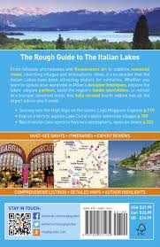 Lake Como Italy Map by The Rough Guide To The Italian Lakes Rough Guides Amazon Co Uk