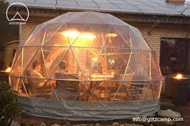 garden igloo dia 4m 13ft geodome tent for garden leisure clear patio igloo domes