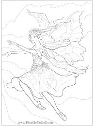 77 pergamano fairies patrons images coloring