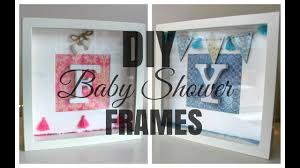 Baby Shower Picture Frames Ikea Hack Diy Ribba Initial Frame Baby Shower Gift Youtube