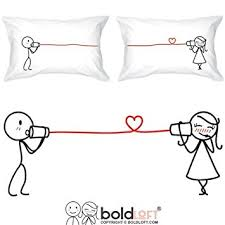 his hers gifts boldloft say i you couples pillowcases couples