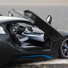 Bmw I8 Blacked Out - 1 14 bmw i8 rc car authentic rc toy white or grey menkind