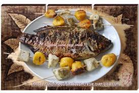 carpe cuisine tilapia grillé carpe exotique sandrine cuisine façon créole