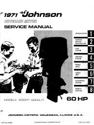 1971 johnson 60hp outboards service manual pdf piston cylinder