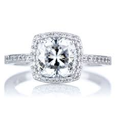 cubic zirconia halo engagement rings 2 5 ct cushion cut cz engagement ring