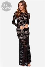 lulu s lulus cut above the rest navy blue lace maxi dress where